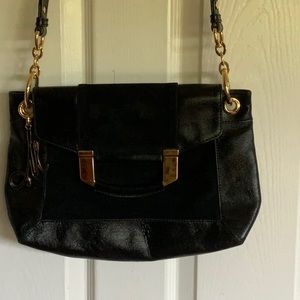 SALE❤️💜💚MILLY leather crossbody bag